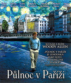 Půlnoc v Paříži (Blu-ray)