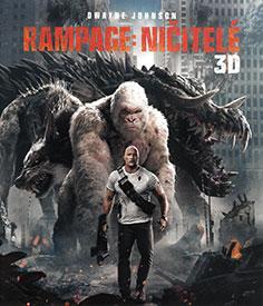 Rampage: Ničitelé (3D Blu-ray)