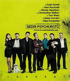 Sedm psychopatů (Blu-ray)
