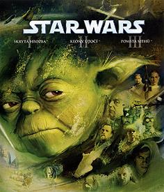 Star Wars: Epizoda II - Klony útočí (Blu-ray Disc)