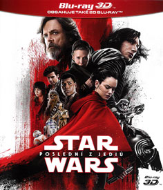 Star Wars: Epizoda VIII - Poslední z Jediů (3D Blu-ray)