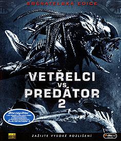 Vetřelci vs. Predátor 2 (Blu-ray Disc)