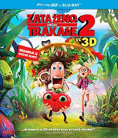 Zataženo, občas trakaře 2 (3D Blu-ray)