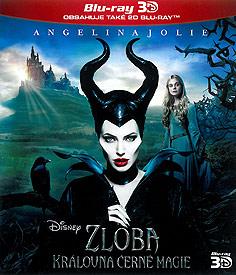 Zloba - Královna černé magie (3D Blu-ray)