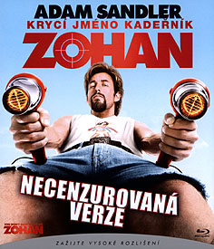 Zohan: Krycí jméno Kadeřník (Blu-ray Disc)