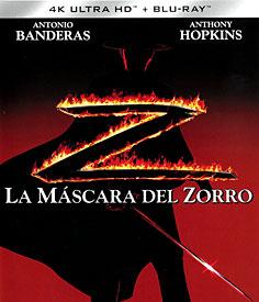Zorro: Tajemná tvář (4K-UHD + Blu-ray)